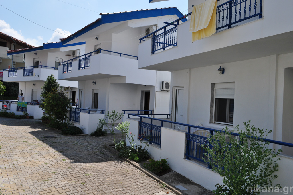 meandros villa potos thassos 4 bed duplex apt ground floor #3  (1)