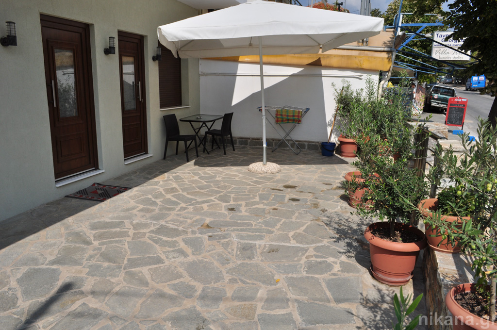 meandros villa potos thassos new building 2 bed std ground floor  (13)