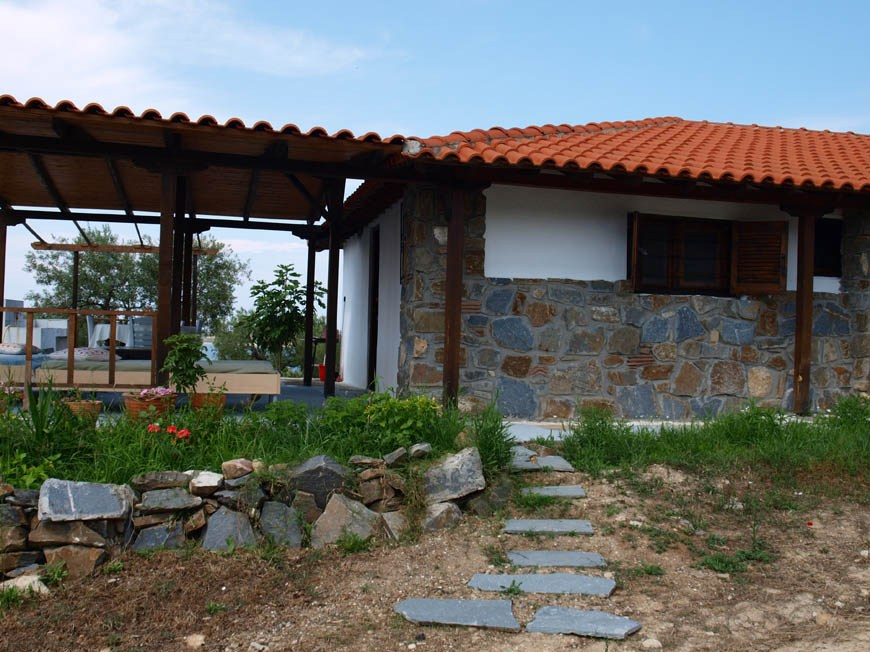 lofos vourvourou sithonia 4 bed stone house 2