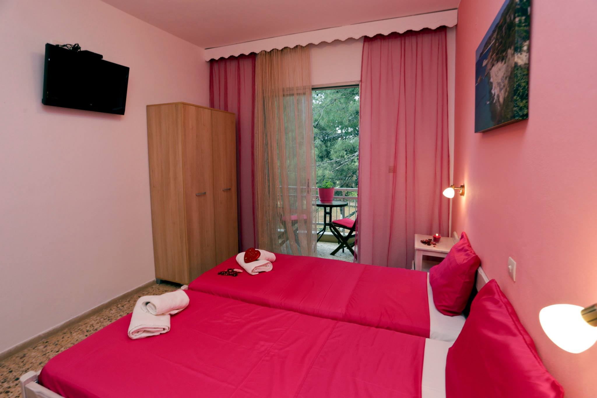 ermioni villa trypiti old house thassos cotton candy room 2