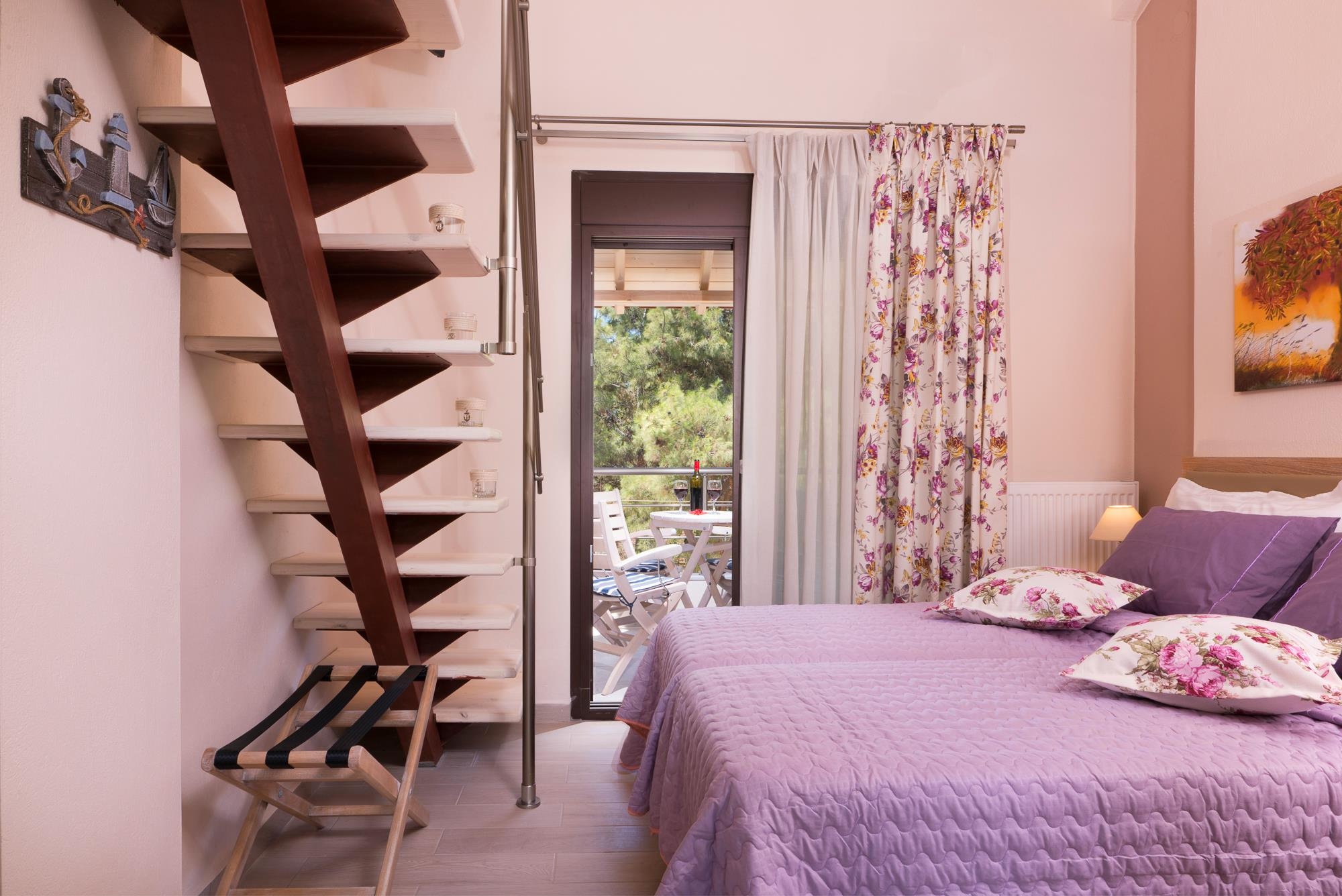 ermioni villa trypiti thassos new house pink water lilies room 5