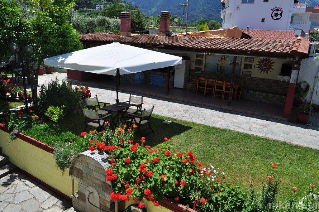 eleni studios skala potamia thassos 4 bed studio #1 first floor  (12)