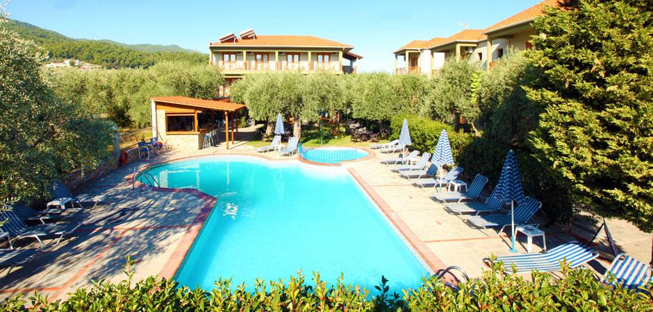 Thetis Hotel Limenas Thassos Accommodation Nikanagr