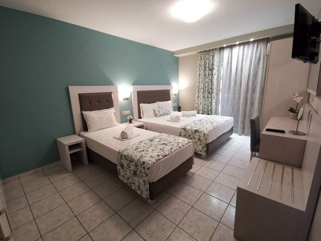 olga hotel sarti sithonia 3 bed studio ground floor 8
