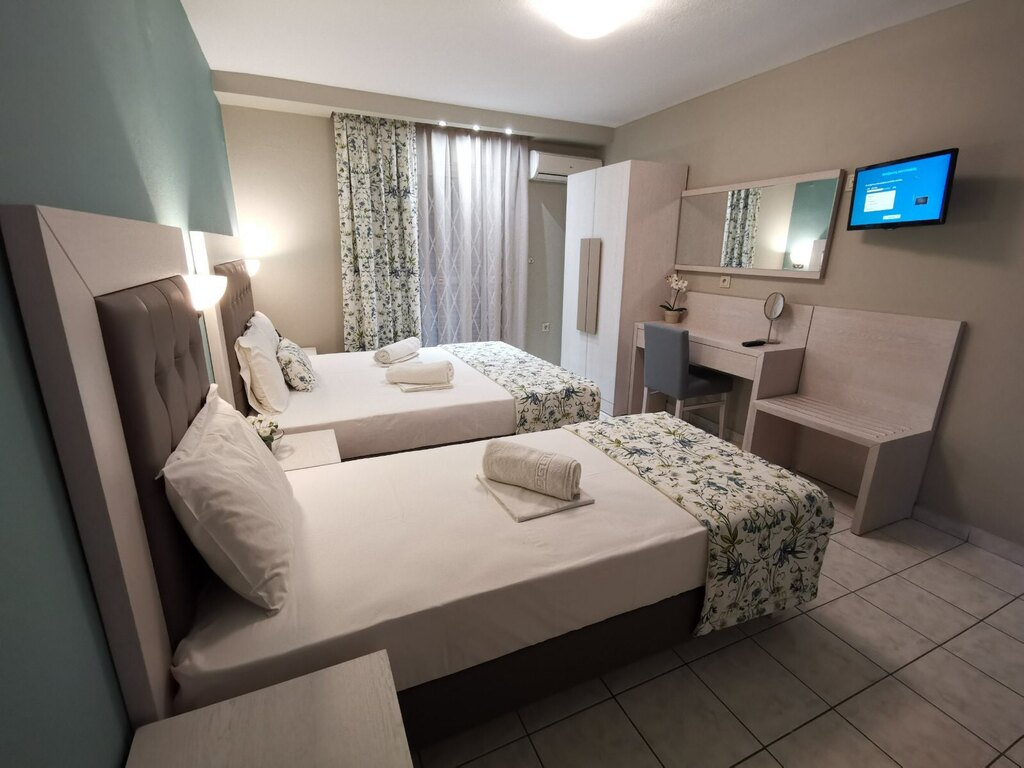 olga hotel sarti sithonia 3 bed studio ground floor 9