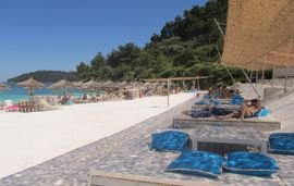 Saliara Beach Thassos Greece 1