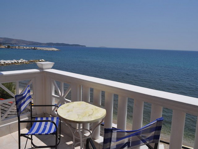 samaras beach limenaria 17 2 bed room sea view