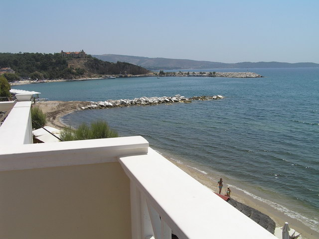 samaras beach limenaria 19 2 bed room sea view