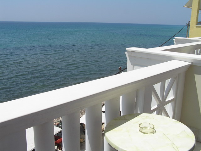 samaras beach limenaria 21 2 bed room sea view