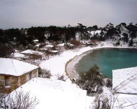 Snow on Thasos 1