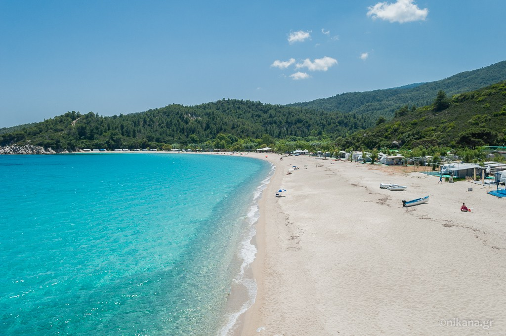 armenistis beach sithonia