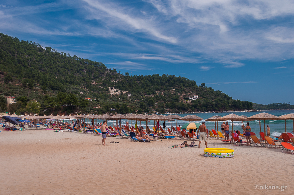 golden beach gulf ideal for vacation with children thassos  (17)