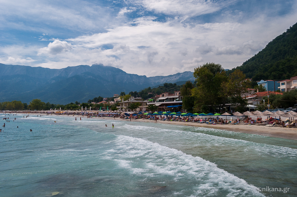 golden beach gulf ideal for vacation with children thassos  (18)