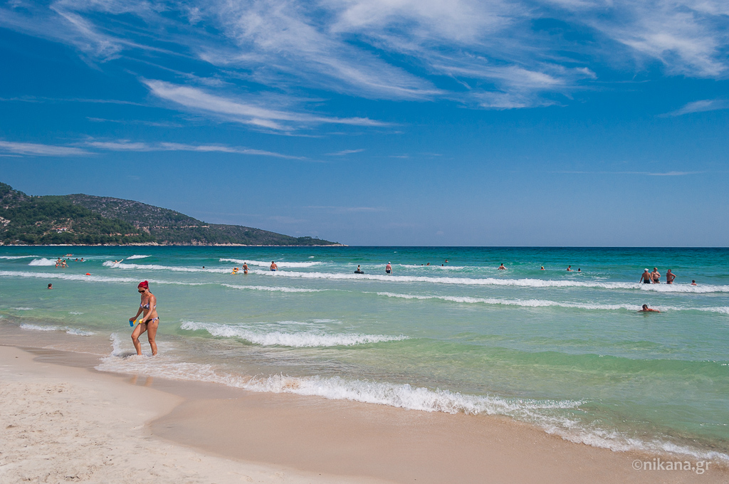 golden beach gulf ideal for vacation with children thassos  (7)