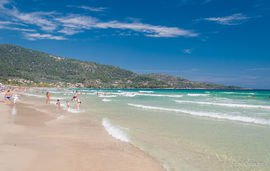 golden beach gulf ideal for vacation with children thassos  (6)