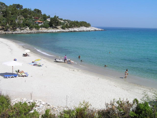 Beauty of the eastern coast of Thassos 13