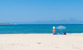 sykia beach sithonia 4