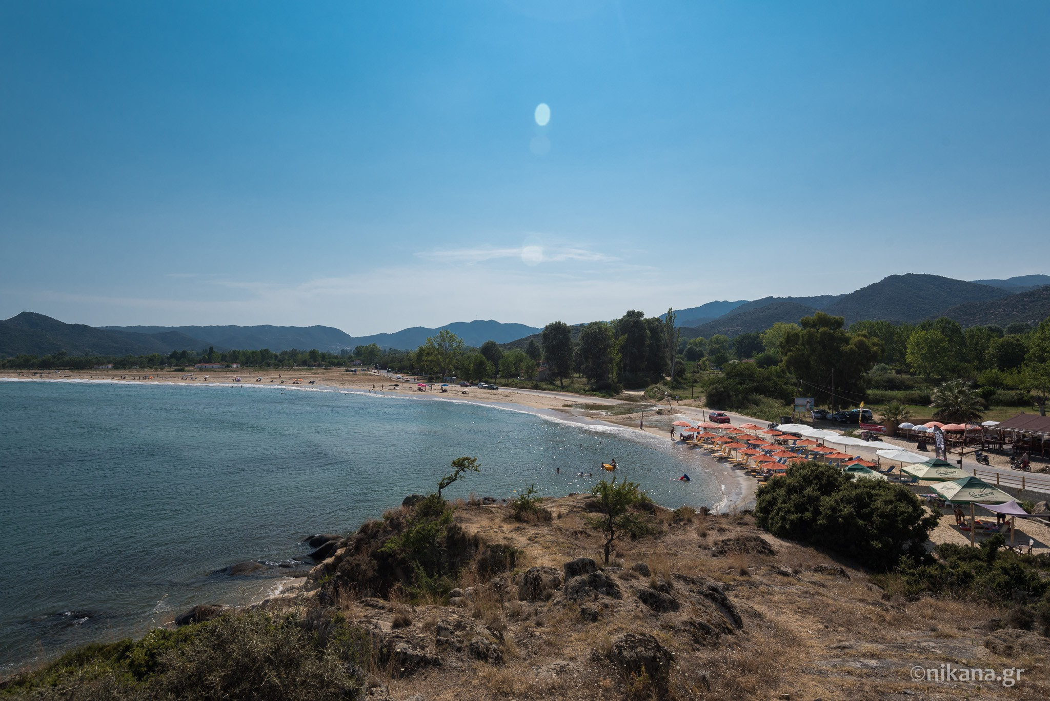 sykia beach sithonia 9