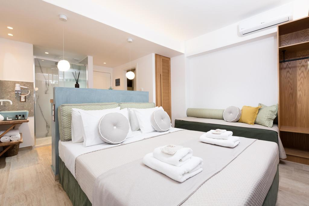 natassa hotel villa pachis thassos 3 bed deluxe room sea view  (3)
