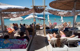 aqua beach bar limenas thassos  (2)