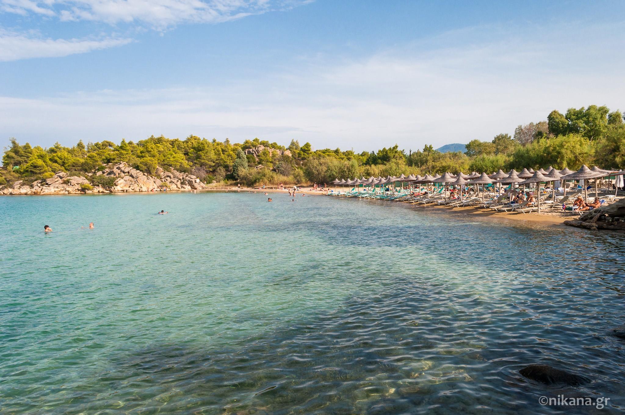 Talgo Beach Sithonia Tourist Guide Nikana Gr