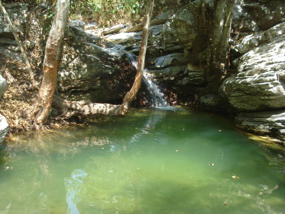 waterfalls in kastro limenaria thassos  (3)