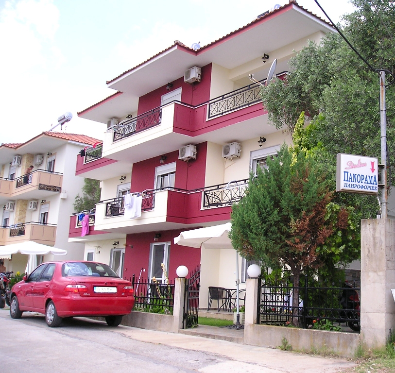 panorama villa golden beach thassos second building 4 bed apartment 1