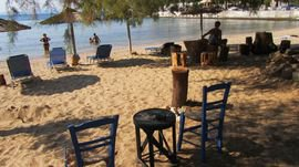 Skala Maries city beach 1