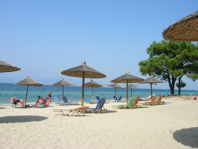 Pachis Beach Thassos Tourist Guide Nikanagr