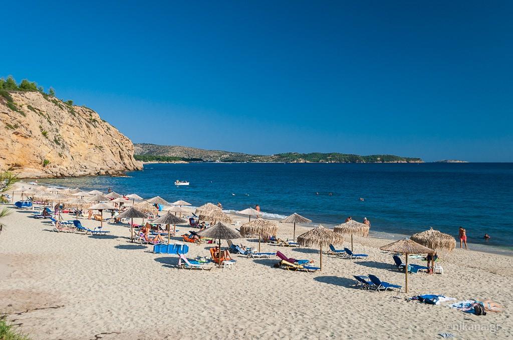 Metalia plaža - Tasos vodič - Nikana.gr