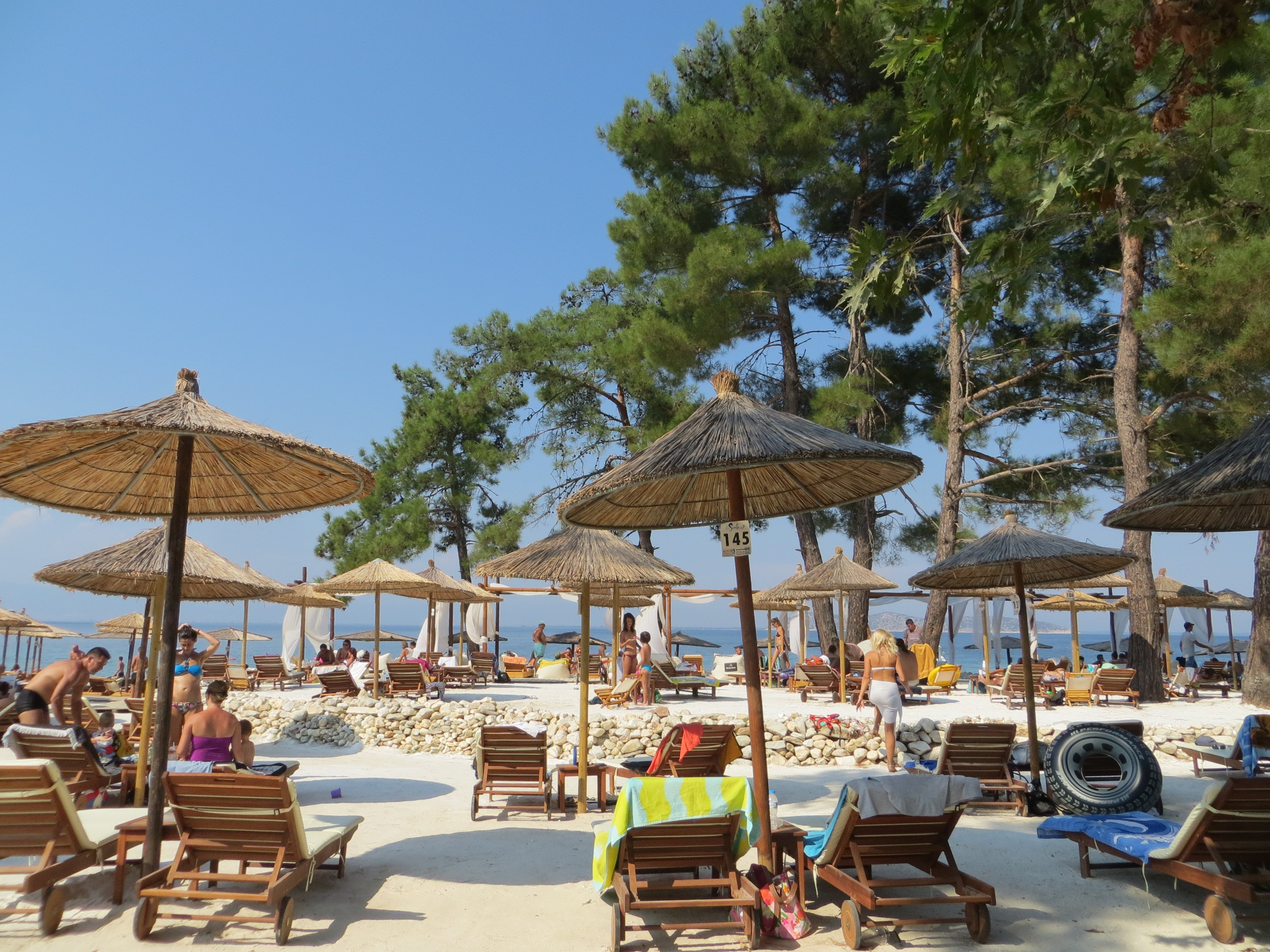 La Scala Beach Thassos Tourist Guide Nikanagr