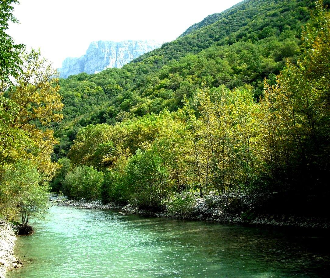 river voidomatis vikos gorge zagorohoria greece 5