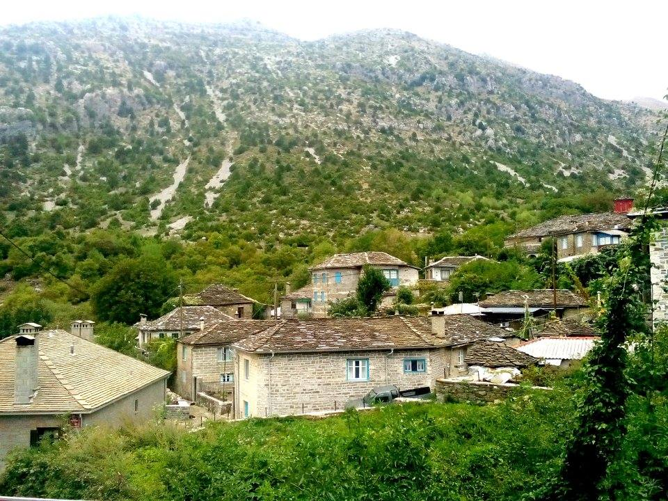 tsepelovo village zagorohoria greece 1