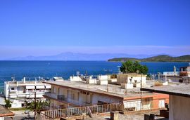 seagull apartments nea peramos kavala 1 floor sea view 1