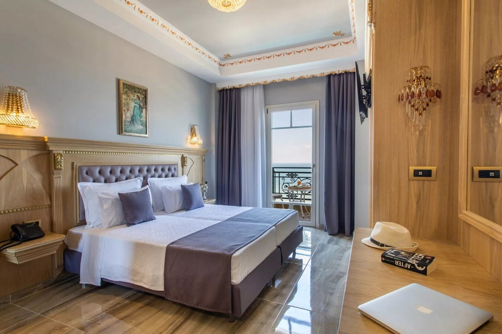 welness santa hotel agia triada thessaloniki deluxe room sea view 2