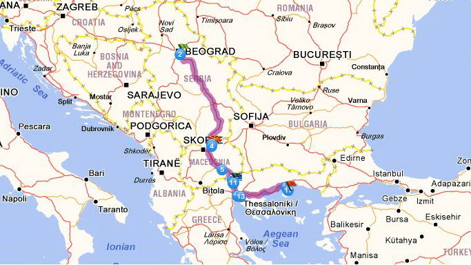 By Car To Thassos And Back Thassos Tourist Guide Nikana Gr