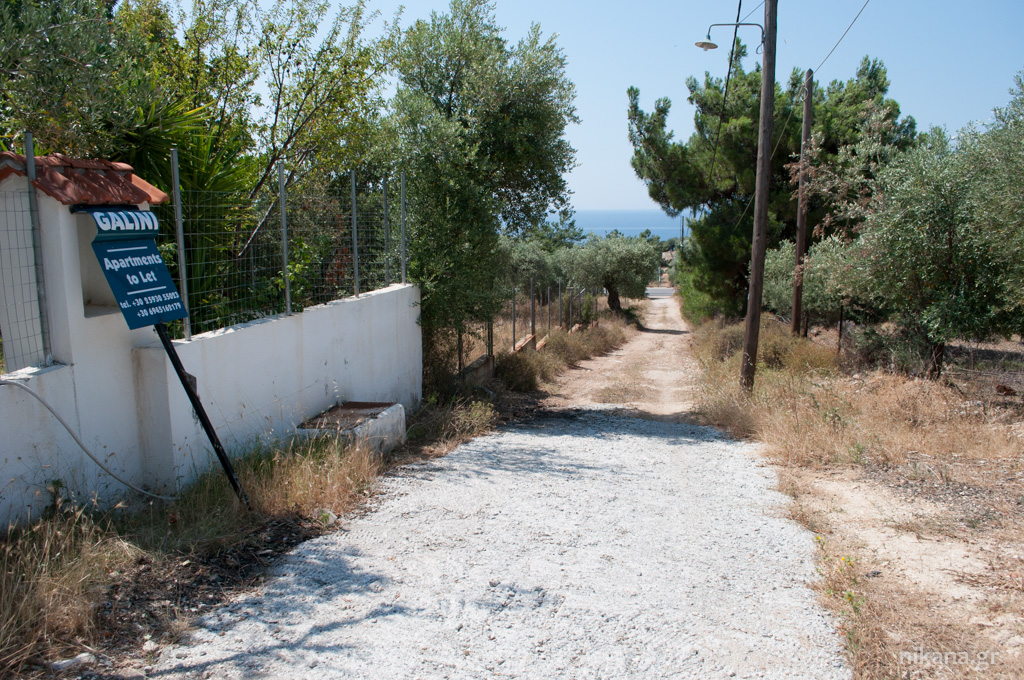 galini apartments way to property astris thassos  (3)