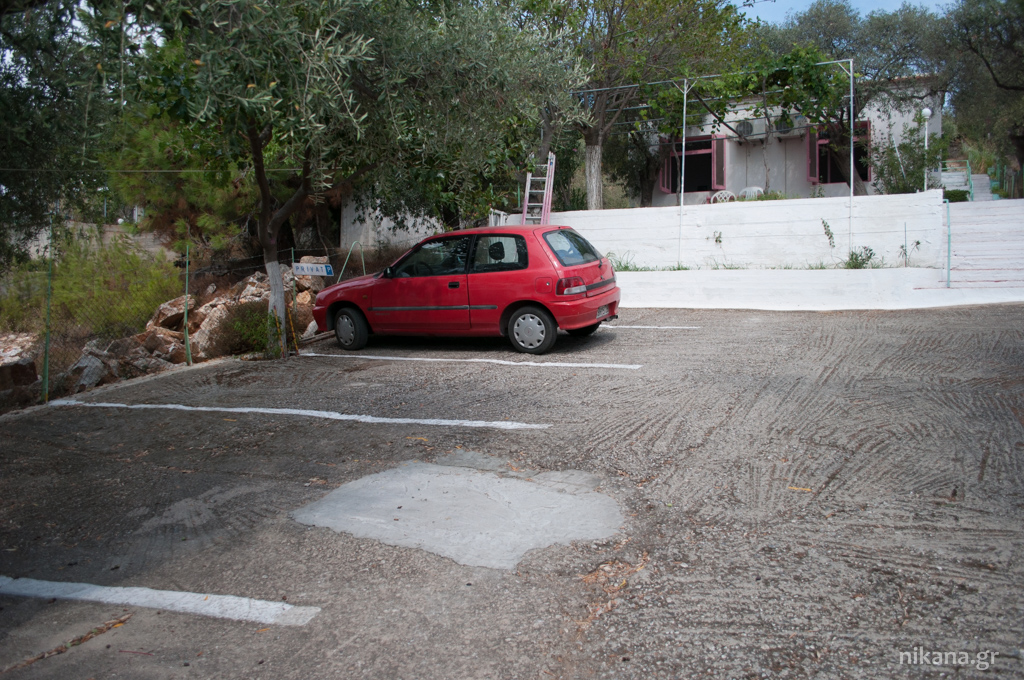 moloches apartments parking psili ammos thassos