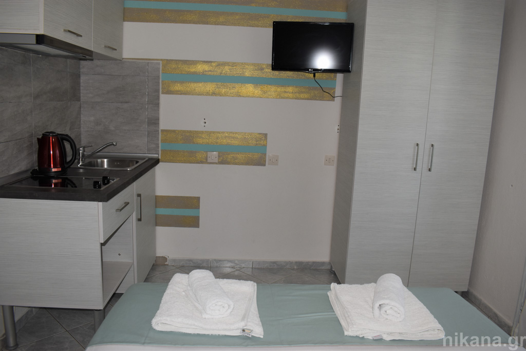 franceska villa potos thassos 2 bed studio #7  (5)