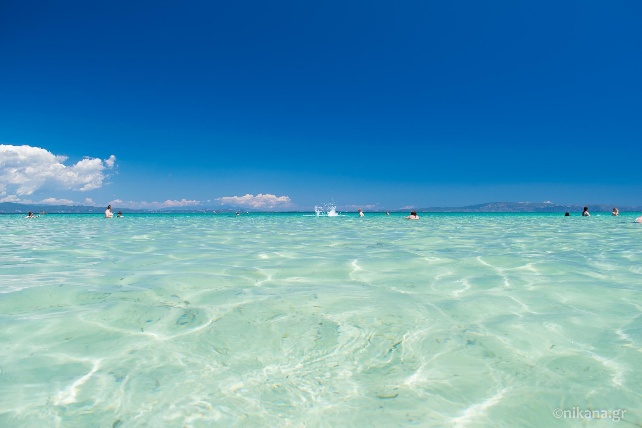 Najlepse Plaze U Okolini Sartija Sitonija Vodic Nikana Gr
