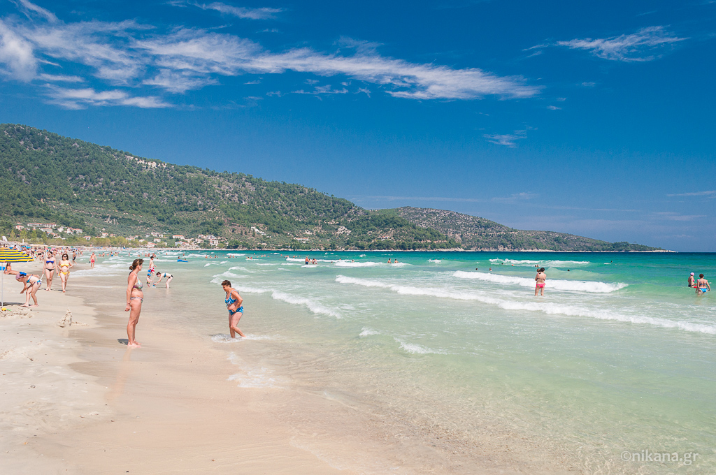 golden beach thassos