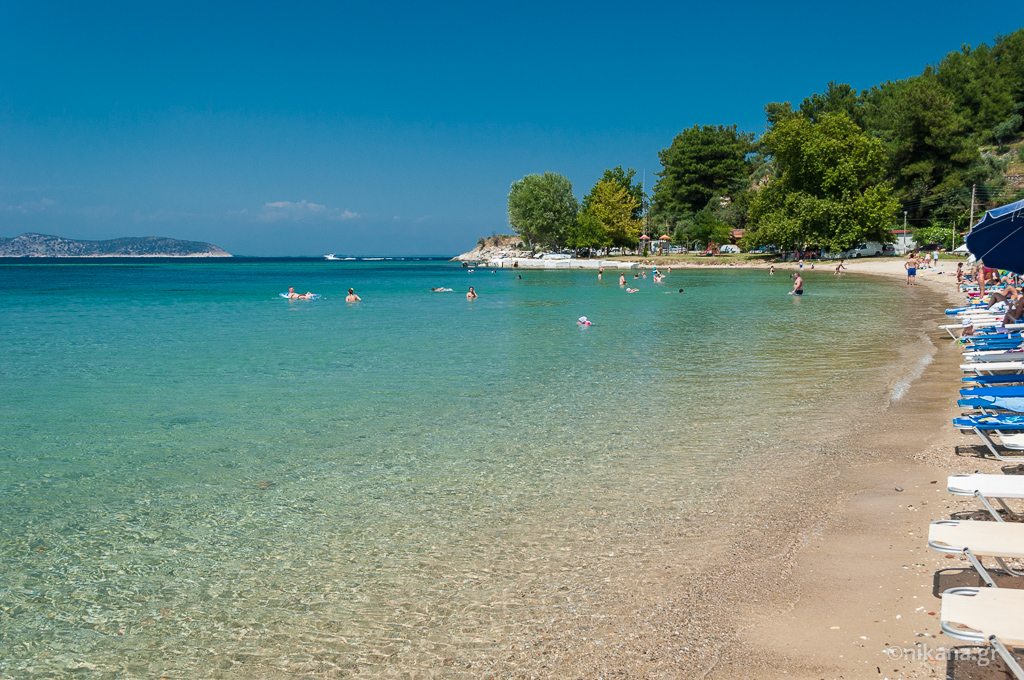 limenas city beach thassos