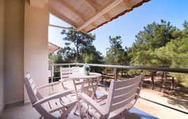 ermioni fresh villa trypiti thassos new house 4 bed studio NEW 6