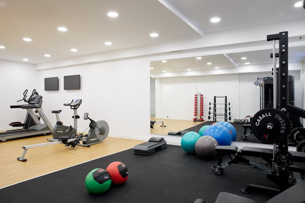 parga beach resort parga epirus gym