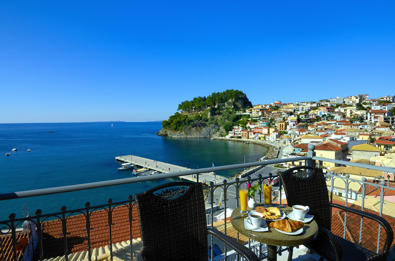 acrothea hotel parga epirus deluxe double room sea view 2