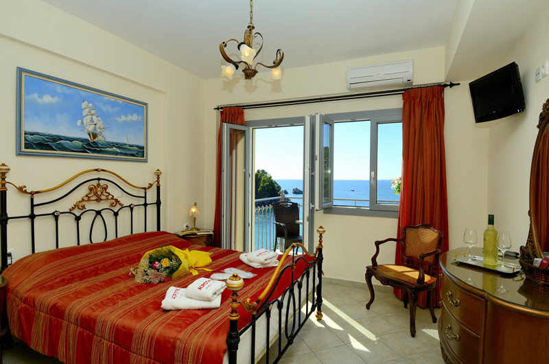 acrothea hotel parga epirus deluxe double room sea view 4