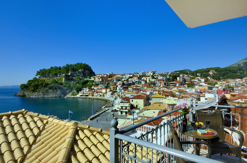acrothea hotel parga epirus superior double room sea view 1