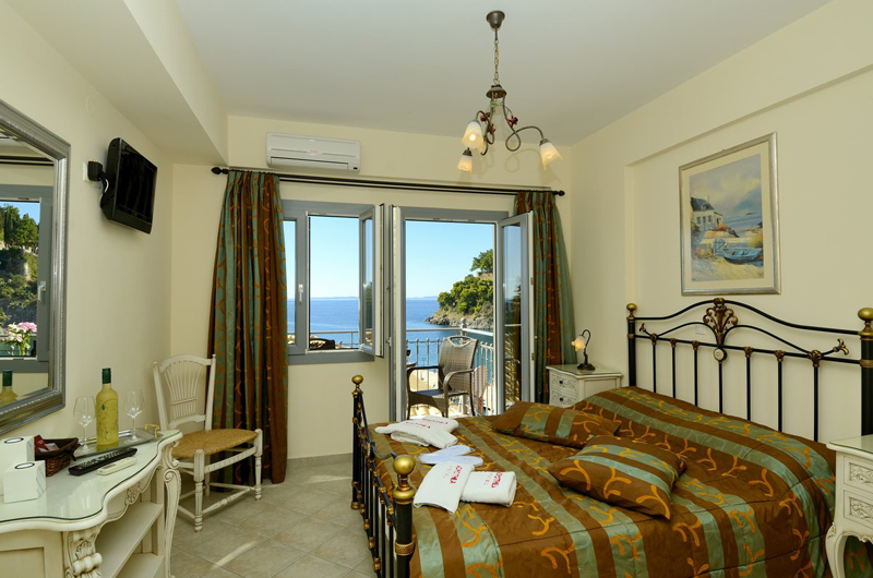acrothea hotel parga epirus superior double room sea view 2