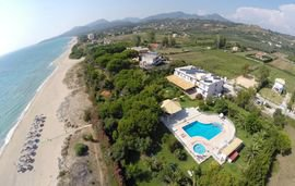 golden beach hotel kastrosikia beach epirus 2