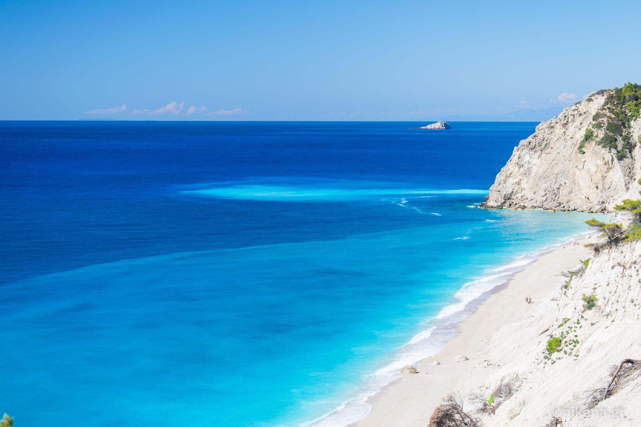 Najlepše Plaže Na Lefkadi Lefkada Vodič Nikanagr